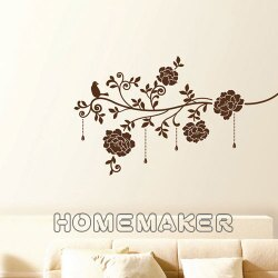韓國絨布創意壁貼_HVS-58612 (買一送一)