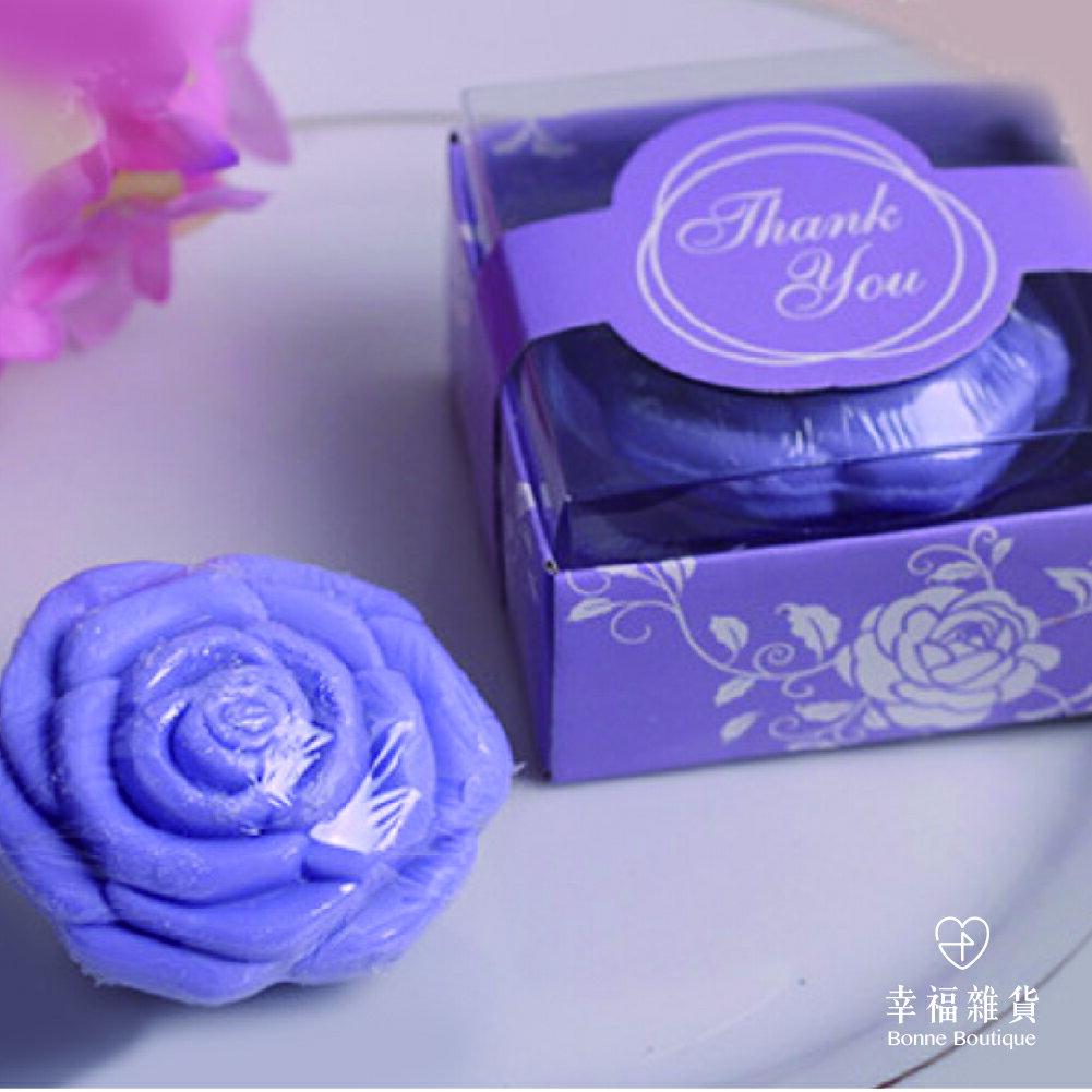 玫瑰花小香皂 典雅造型 送禮 禮物 禮盒裝 婚禮小物【Bonne Boutique幸福雜貨】