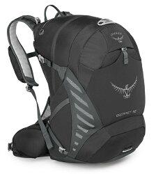 【Osprey 美國】ESCAPIST 32 單車背包 運動背包 健行背包 旅行背包 黑色〈容量32L〉 /Escapist32