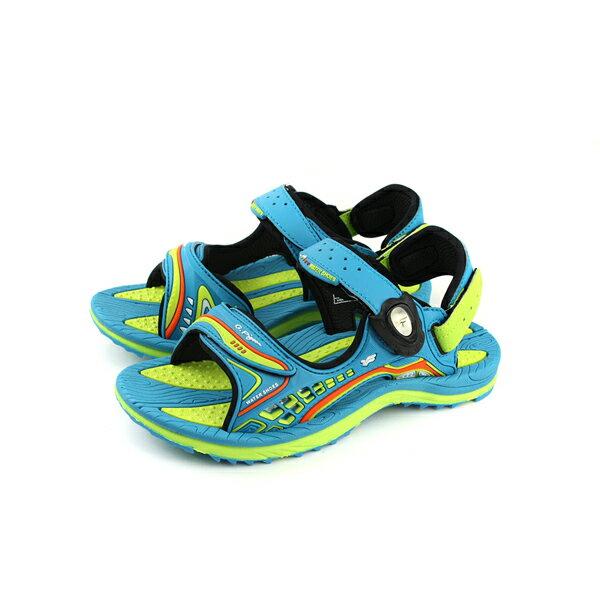 GP Gold.Pigon  涼鞋 防水 雨天 藍綠色 大童 童鞋 G8675B~60 n
