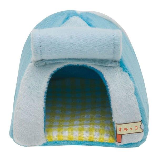 【角落生物 藍帳篷】角落生物 迷你 帳篷 家具 藍色 SS號專用 日本正版 該該貝比日本精品