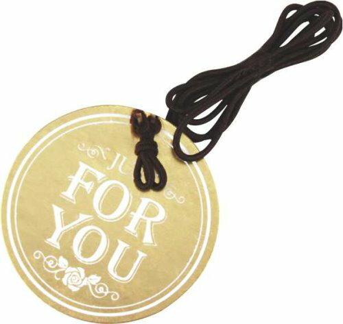 【零售量】吊卡:圓型JUSTFORYOU(雙層用)50個
