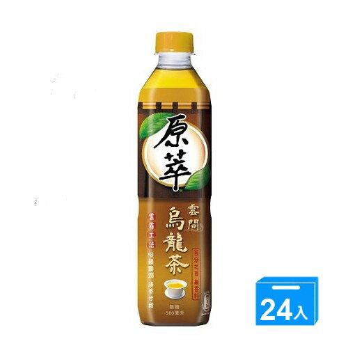 愛買線上購物:原萃雲間烏龍茶580ml*24【愛買】