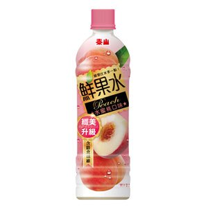 泰山 鮮果水 水蜜桃口味 590ml