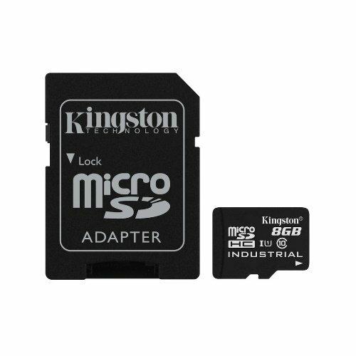 【新風尚潮流】金士頓 工業級 記憶卡 8G micro SDHC 每秒 讀90MB 寫20MB SDCIT/8GB
