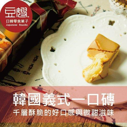 【豆嫂】韓國零食 義式焦糖千層一口酥(五包組)
