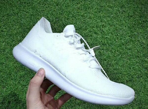 NikeFreeRNFlyknit全白情侶款