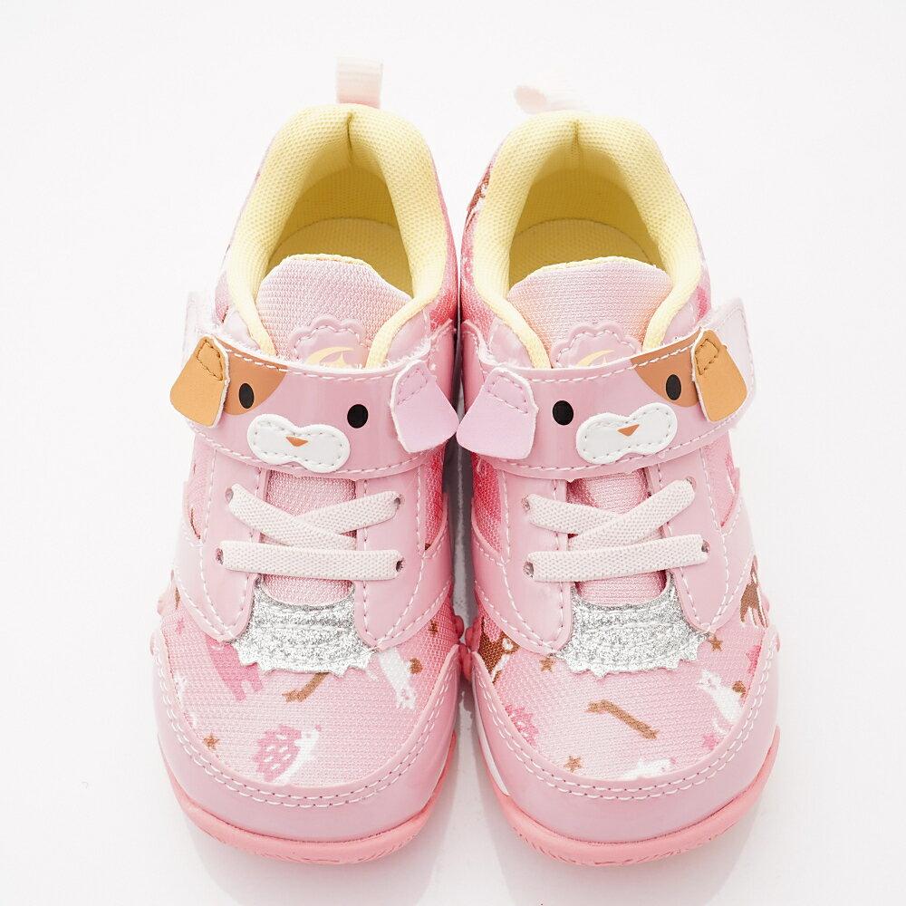 日本Carrot 速乾機能鞋款 CRC22614 粉(中小童段) 4