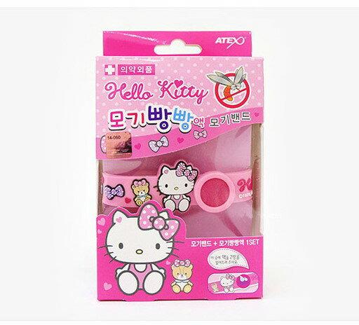 Hello Kitty 防蚊 手環 德德 韓國進口 連線