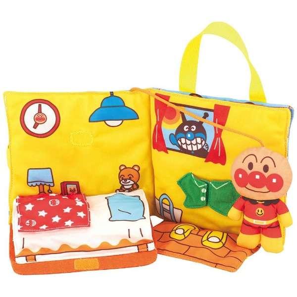 日本代購預購 ANPANMAN 麵包超人 生活教學布書 兒童遊戲 兒童玩具 707-561