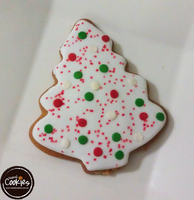 分享幸福的婚禮小物推薦喜糖_餅乾_伴手禮_糕點推薦【裸餅乾Naked Cookies】聖誕樹(1)6入-創意手工糖霜餅乾,婚禮小物/生日/活動/收涎/彌月
