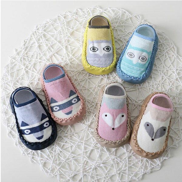 寶寶襪皮底防滑地板襪兒童學步鞋(11-13CM)CA1257好娃娃