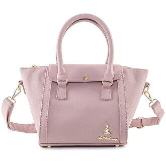 冰山袋鼠 日系春色好感系列蓋扣蝙蝠包-9001-粉藕紫