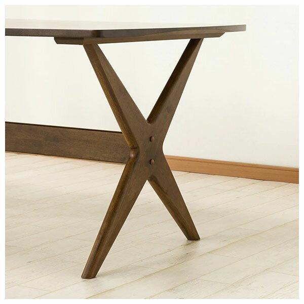 ◎橡膠木質餐桌 RELAX 160 MBR NITORI宜得利家居 3