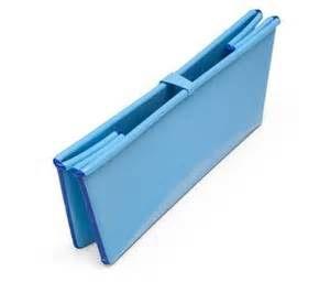 丹麥Flexi Bath 嬰幼兒折疊式浴盆 折疊浴盆 多功能浴盆 攜帶式浴盆【藍色】