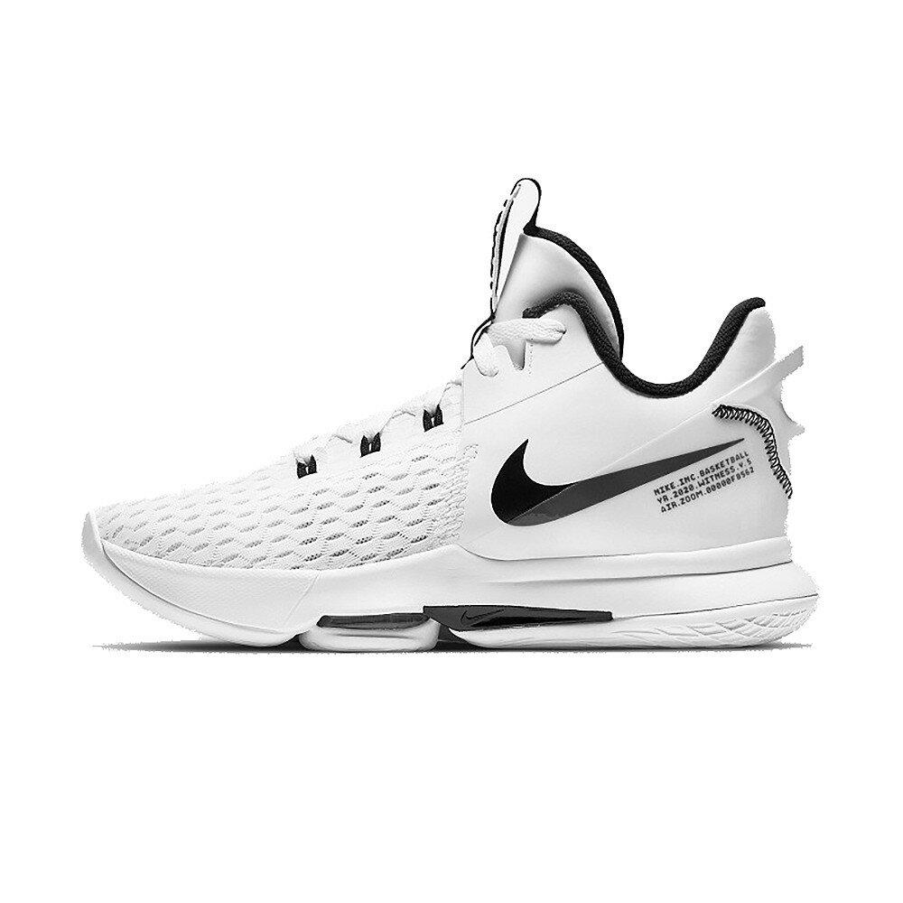 NIKE LEBRON WITNESS V EP 白 男 高筒 XDR 籃球鞋 CQ9381101 【FEEL 9S】