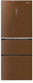 【國際牌Panasonic】ECONAVI 500L 四門變頻冰箱。翡翠棕/(NR-D508NHG/NR-D508NHG-T)