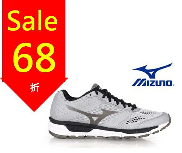 Mizuno Wave 男慢跑鞋 WAVE ENIGMA 5 灰 0