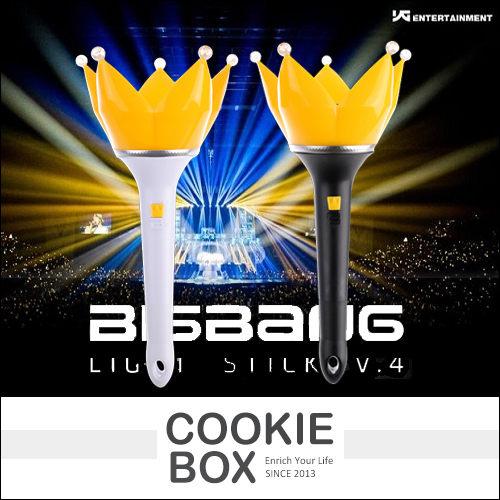 正版 bigbang 四代 聲控 皇冠 手燈 限量 BIGBANG GD 權志龍 YG G-Dragon 太陽 *餅乾盒子*