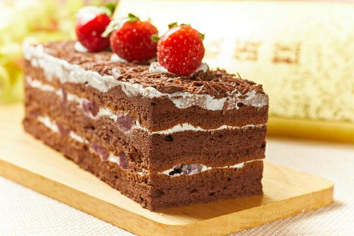 歐式黒森林19x6x6cm  彌月蛋糕
