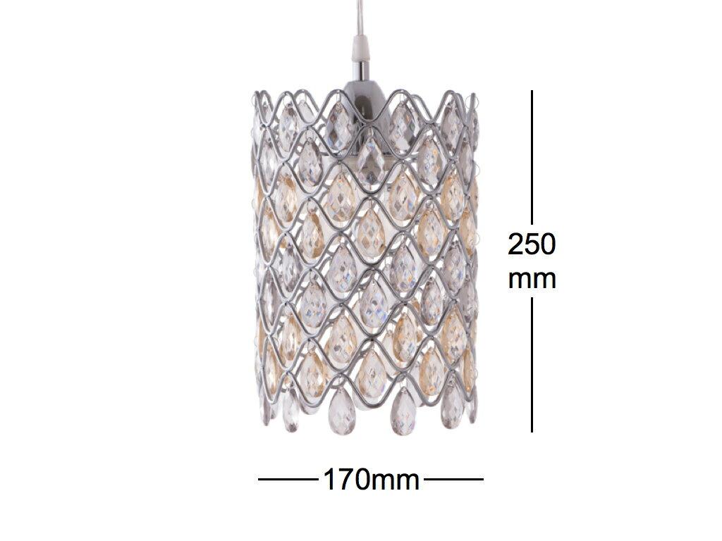 鍍鉻波浪紋壓克力珠吊燈-BNL00051 7