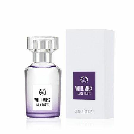 The Body Shop 白麝香絲柔淡雅香水 1oz ( 30ML )【彤彤小舖】