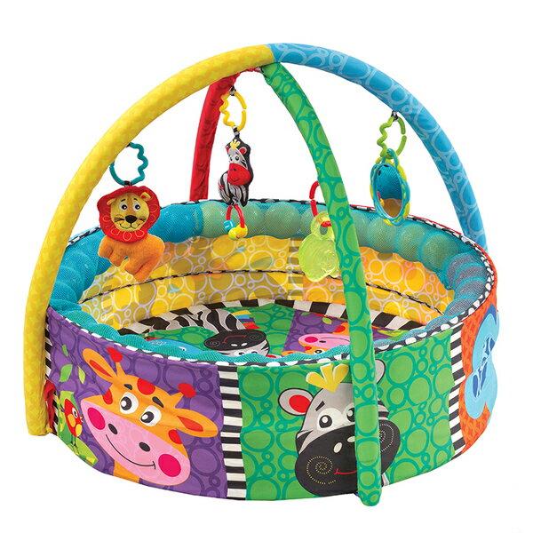 【淘氣寶寶】澳洲 Playgro 培高 動物球池三階段遊戲墊 PG0184007