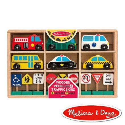 美國瑪莉莎Melissa&Doug木製交通號誌【寶貝樂園】