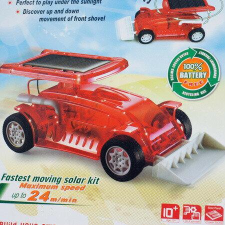 太陽能 堆土機 推土機 組合玩具 益智 教育 玩具