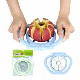 多功能 不鏽鋼 切果器 水果分切器 切8片去核 蘋果
