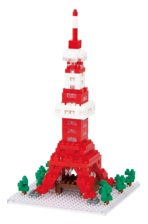 東京鐵塔 Tokyo Tower 河田積木 KAWADA nanoblock 日本帶回