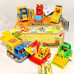 麵包超人 工程玩具車 機關 一樣 日本帶回
