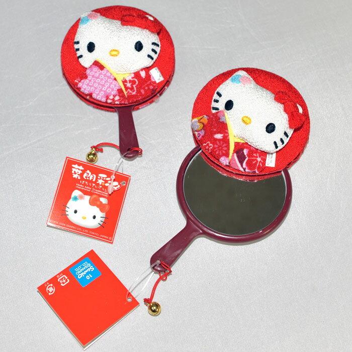 Hello Kitty 和風立體小鏡子 化妝鏡 凱蒂貓 日本限定