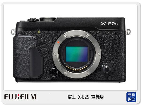 FUJIFILM 富士 X-E2S 單機身 BODY 全自動模式 (XE2S,恆昶公司貨)【分期0利率,免運費】