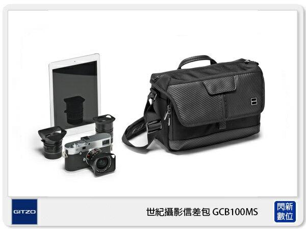 GitzoCentury百周年系列世紀攝影信差包斜背包相機包GCB100MS(公司貨)