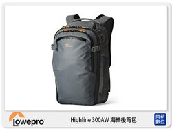 【分期0利率,免運費】Lowepro 羅普 HighLine 海樂後背包 BP 300 AW 相機包 (BP300 立福公司貨)