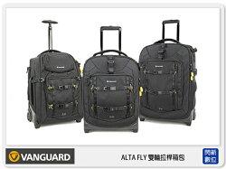 【分期0利率,免運費】VANGUARD 精嘉 Alta Fly 62T 雙輪拉桿箱包 相機包 攝影包 滑輪 (公司貨)