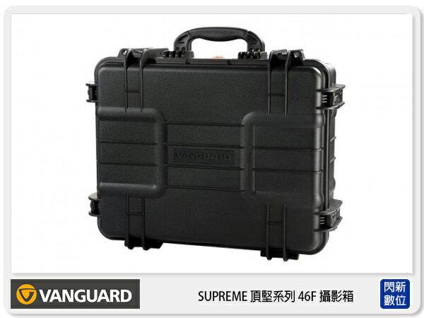閃新科技:【分期0利率,免運費】VANGUARD精嘉SUPREME頂堅防撞系列46F攝影鋁箱攝影包防撞箱防水抱棉式(公司貨)