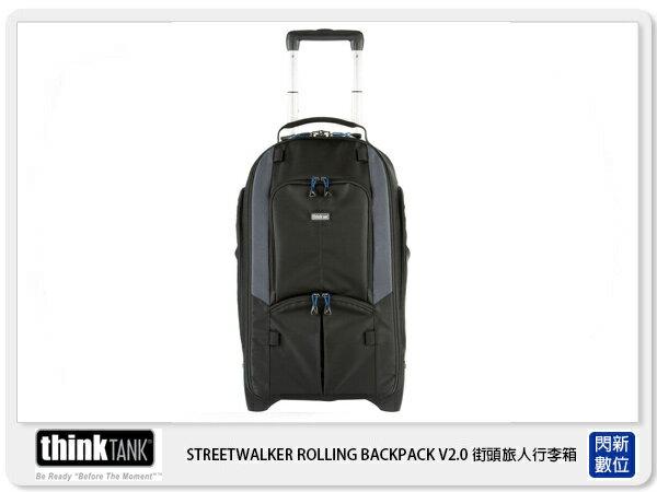 閃新科技:【分期0利率】thinkTank創意坦克STREETWALKER®ROLLINGBACKPACKV2.0行李箱TTP497公司貨