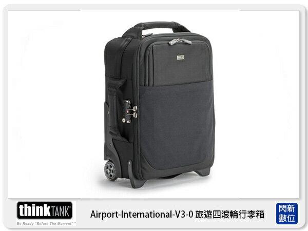 閃新科技:【分期0利率】thinkTank創意坦克AirportInternational™V3.0旅遊四滾輪行李箱滑輪包TTP563公司貨