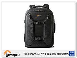 【分期0利率,免運費】Lowepro 羅普 Pro Runner BP 450 AW II 專業遊俠 雙肩 攝影背包 兩用包 電腦包(公司貨)