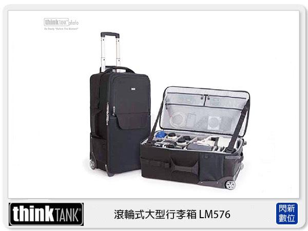 【分期0利率】thinkTank 創意坦克 Logistics Manager 30吋 拉桿 滾輪式大型行李箱 (LM576)TTP576