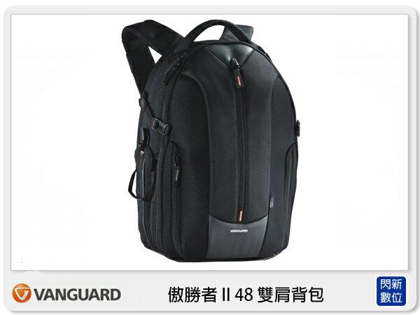 【分期0利率,免運費】VANGUARD UP-RISE II 48 傲勝者 雙肩背包 (附防雨罩,公司貨)