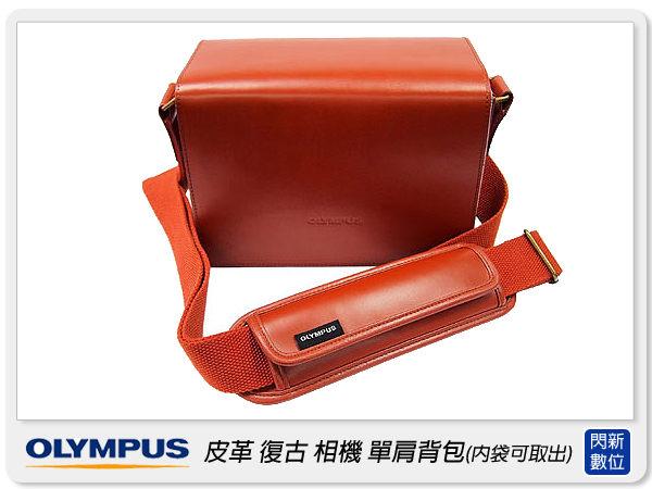OLYMPUS 原廠 復古包 復古包 相機包 背包 黑色(內袋可取)適EP/GF/NEX XZ1可【分期0利率,免運費】