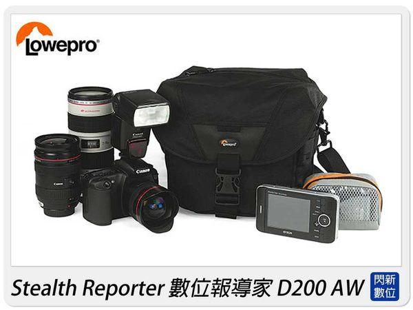 【分期0利率,免運】LOWEPRO 羅普 Stealth Reporter D200 AW 數位報導家 D200AW 側背 肩背包 適用D7000/5D2/60D