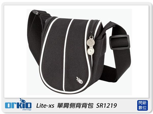 【分期0利率,免運費】ORKIO 比利時小魚 SR1219 單肩 側背 攝影背包 相機包 黑色