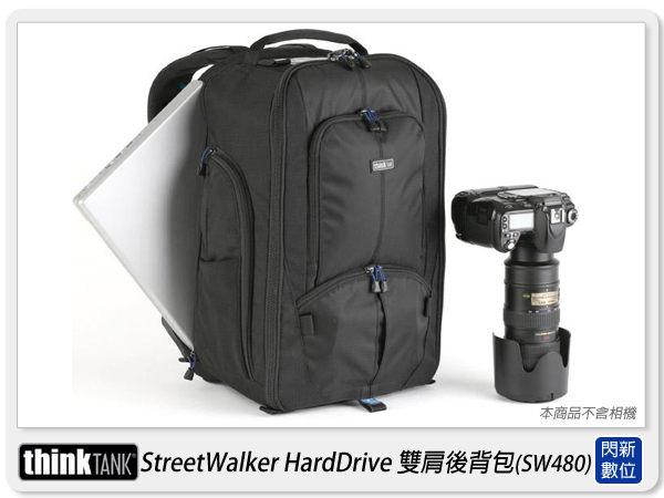 【分期0利率,優惠券折扣】thinkTank 創意坦克 StreetWalker 雙肩 後背背包(SW480)可放15吋筆電(彩宣公司貨)