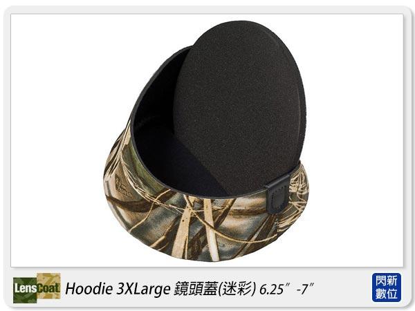 【分期0利率,免運費】美國 Lenscoat Hoodie 3Xlarge 3XL 咖啡迷彩 鏡頭蓋
