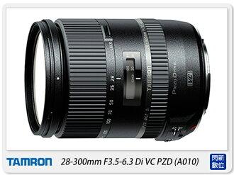 【分期0利率,免運費】CANON~ Tamron 28-300mm F3.5-6.3 Di VC PZD 新版(28-300,A010,俊毅公司貨)全幅可