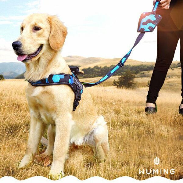 大犬也適用! 寵物 牽引繩 伸縮 胸背帶 狗鏈 頸圈 手機收納 清潔 小型犬 大型犬 『無名』 P03117